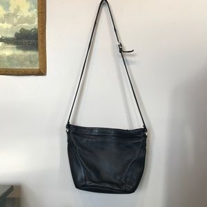 Vintage Bags - VTG A. Giannetti Leather Crossbody